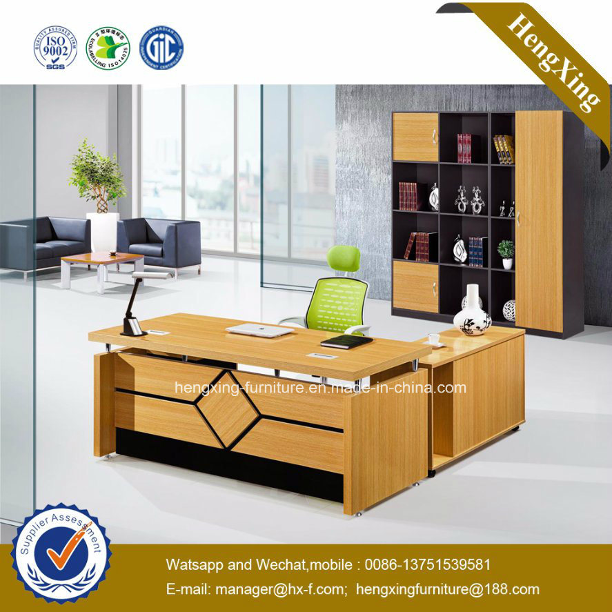 MDF Executive Office Desk Wooden School Office Furniture (HX-GD088)