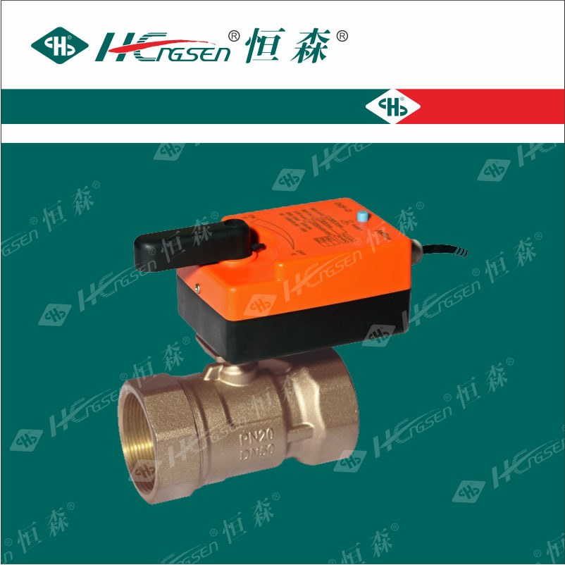 D Q F-D K Brass Motorized Ball Valve with Actuator/Motorized Ball Valve/Brass Ball Valve/Electric Ball Valve/Water Ball Valve/Zone Valve D N32, D N40, D N50