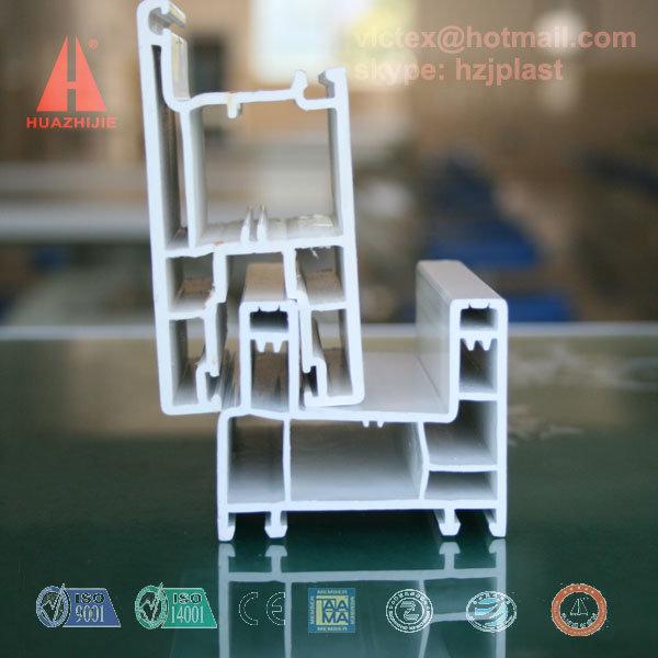 60mm Sliding UPVC Window Profile