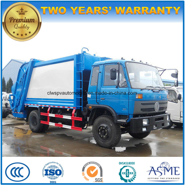 4X2 6 Wheels 10 to 12 Cubic Meters Compactor Garbage Truck Rubbish Collect for Sale