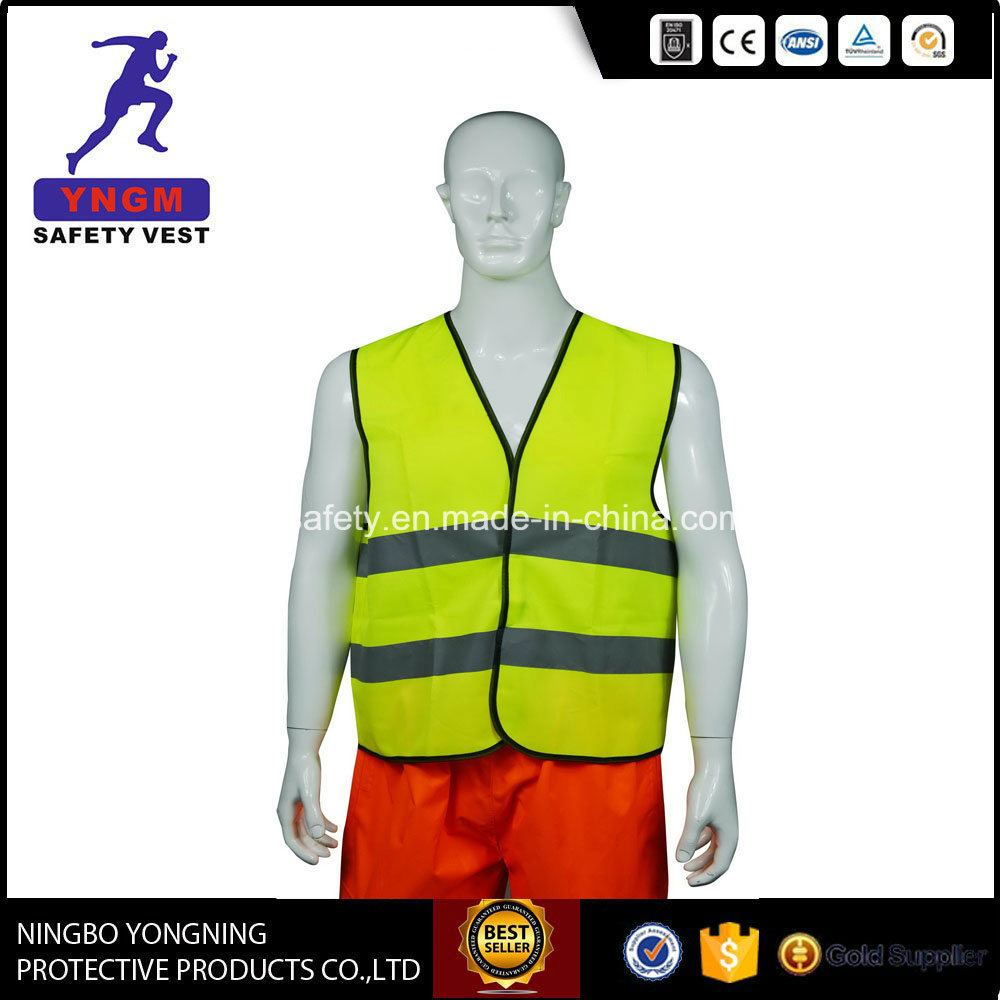High Visibility Class 2 Workwear Reflective Safety Vest From Factory Directly