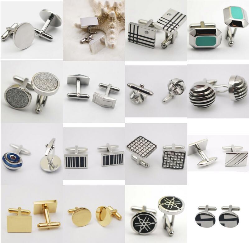 Gentleman′s Jewelry Stainless Steel Cufflinks