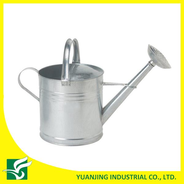 Galvanized Heavy Gauge Steel Watering Can, 2-Gallon