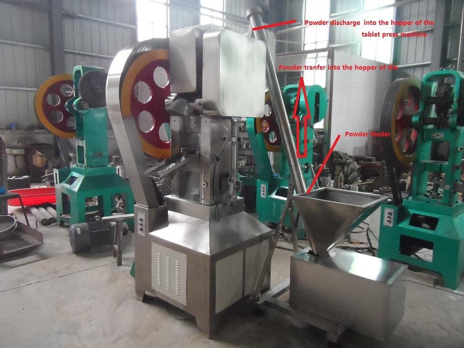 Thp Flower Tablet Press Machine/Sterilize Tablet Press Machine