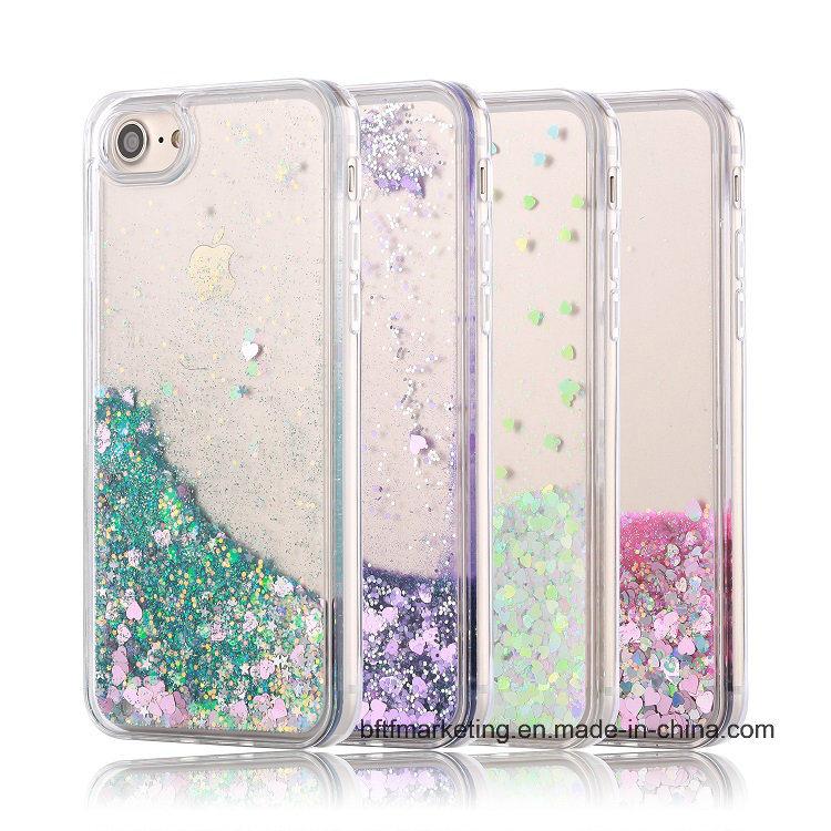 Premium Glitter Bling Quicksand TPU Phone Case for iPhone 8/8plus/7/7plus