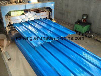 Color Coated Corrugated Stee Roofing Tiles