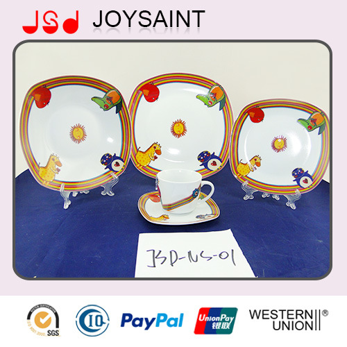 Cheap Price 20/30 PCS Fine Porcelain Dinner Set