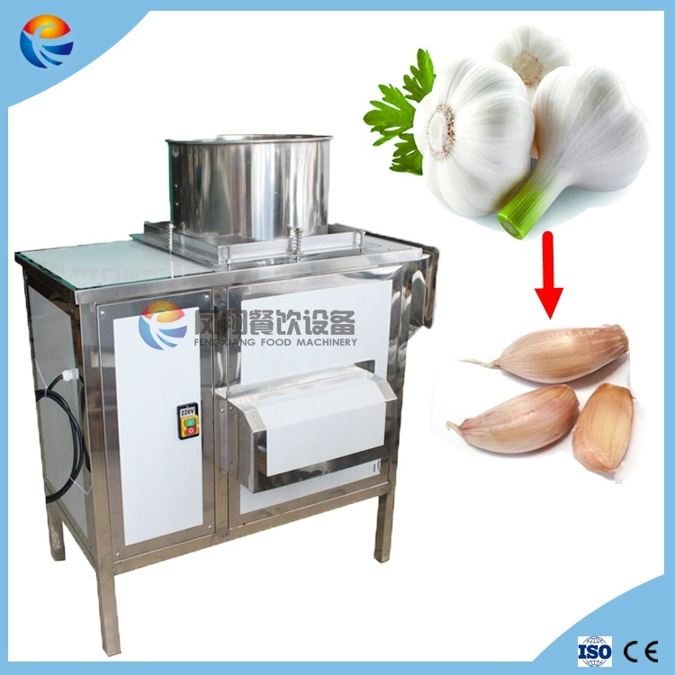 Indusrtial Automatic Garlic Bulb Clove Separator Separating Breaking Splitter Splitting Machine
