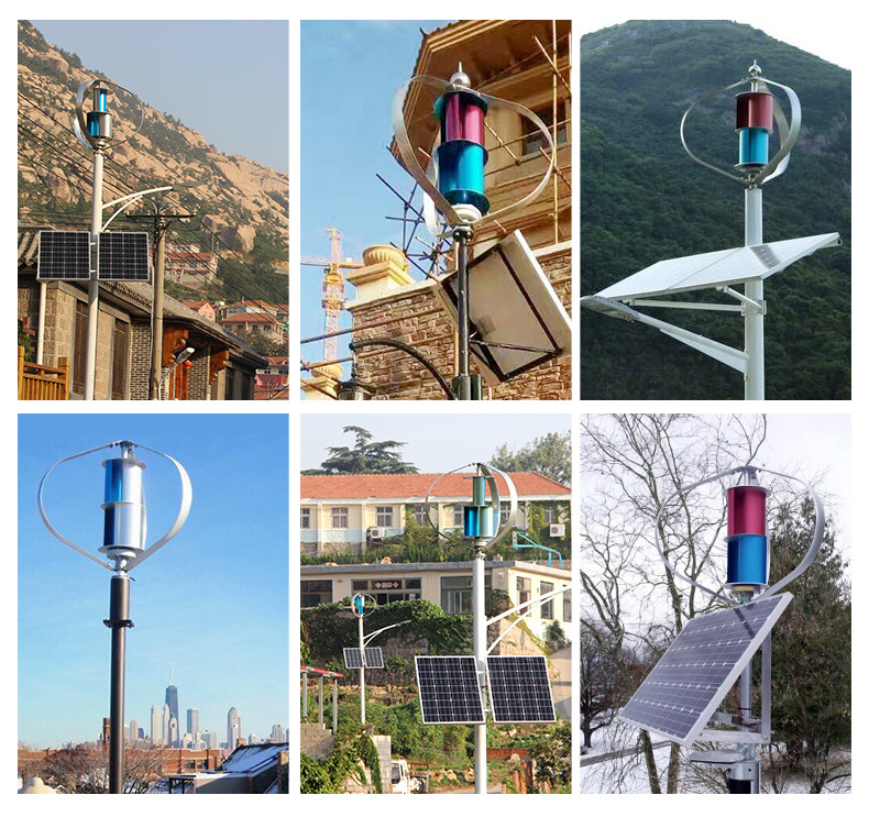 200W AC 24V Vertical Permannet Magnet Small Wind Generator for Sale (SHJ-NEV200Q1)