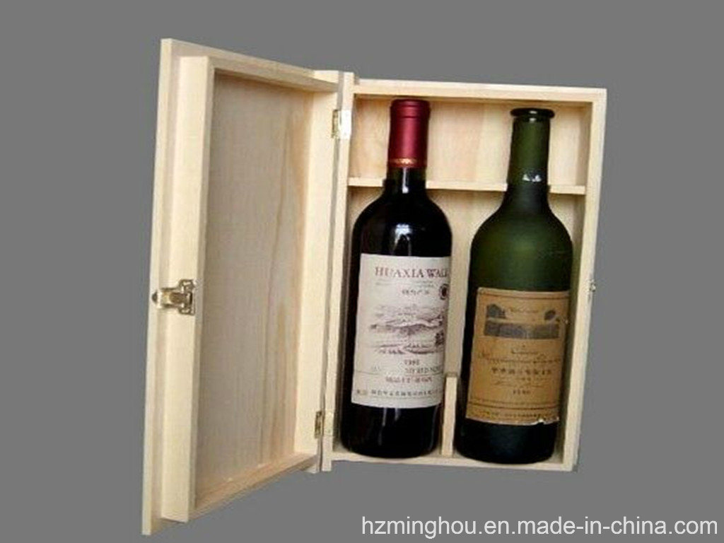 Customized Packaging Box Wooden Box for Wine Storage Gift Box