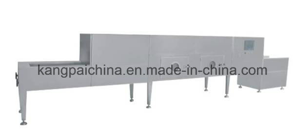 Kwsg Tunnel Type Microwave Sterilization Drying Machine/ Cereal Rice Grain Seed Sterilizing Dryer