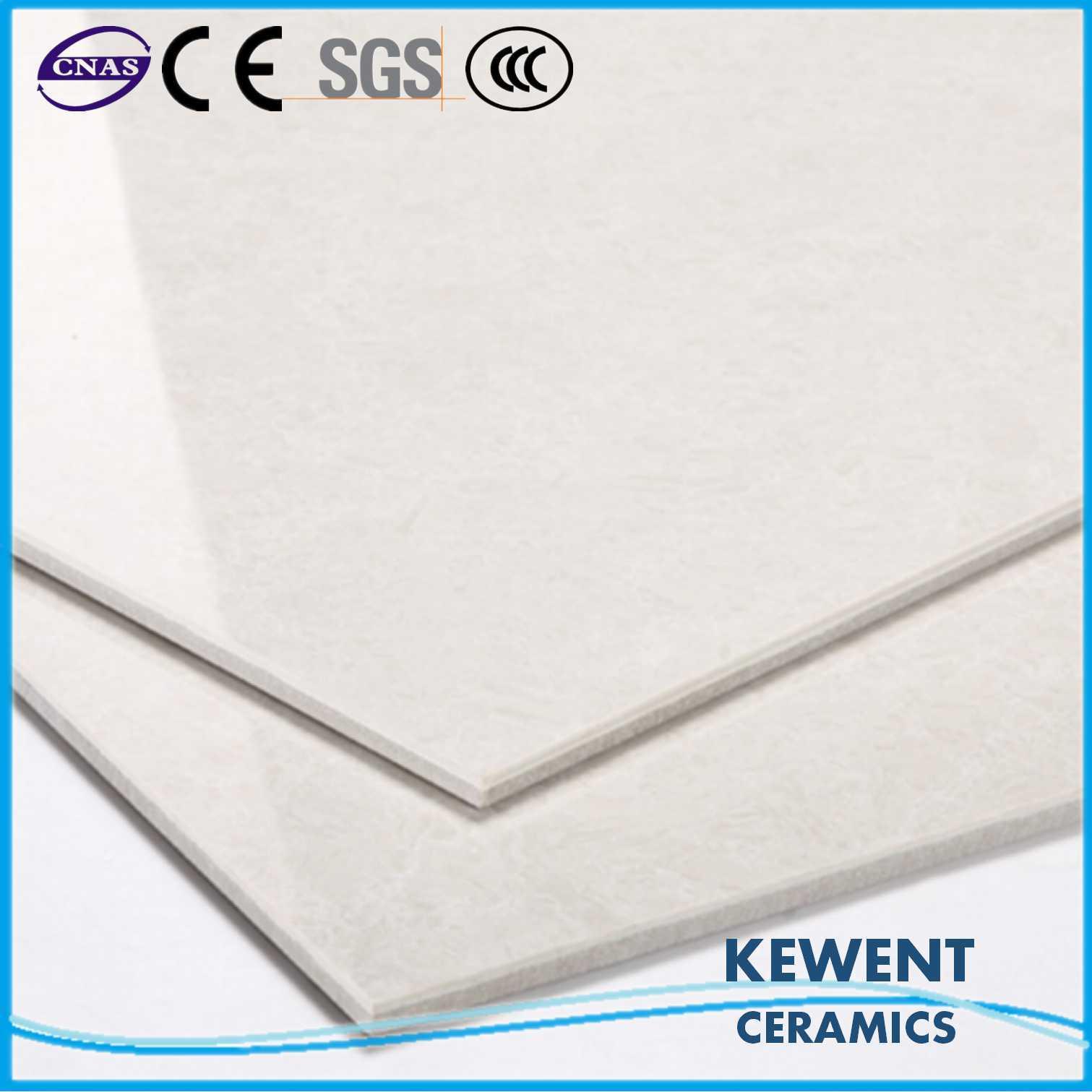 600*600mm White Double Loading Tulip Barossa Series Polished Porcelain Floor Tile