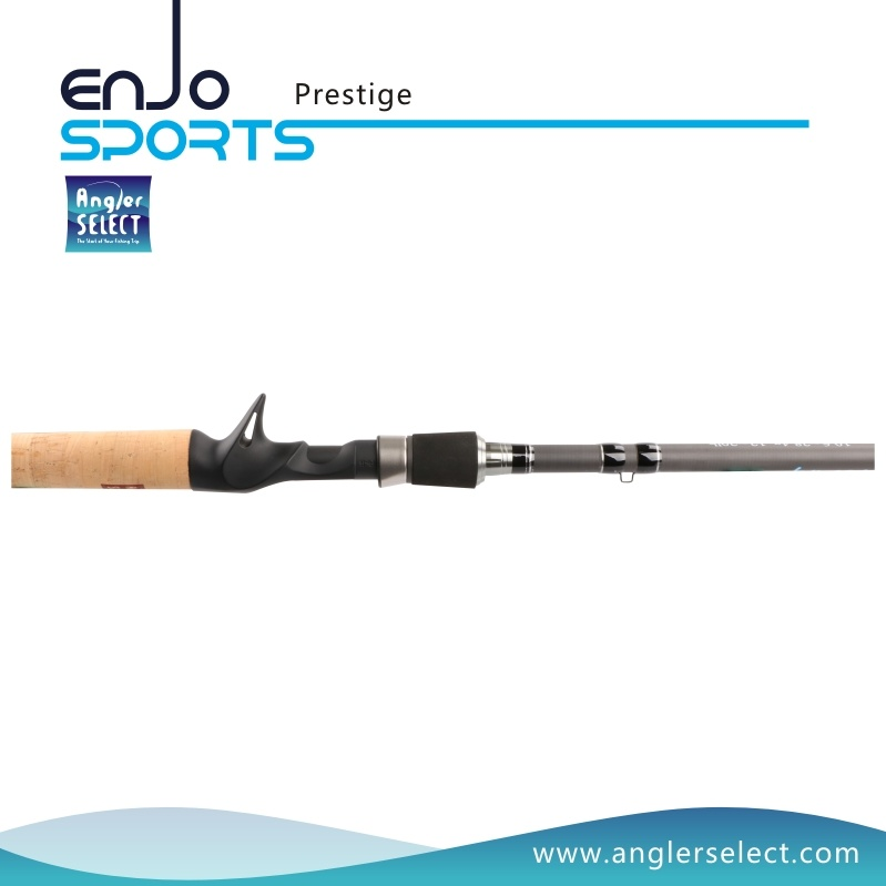 Prestige One-Piece Carbon Fiber Casting Rods with FUJI Sic Guides
