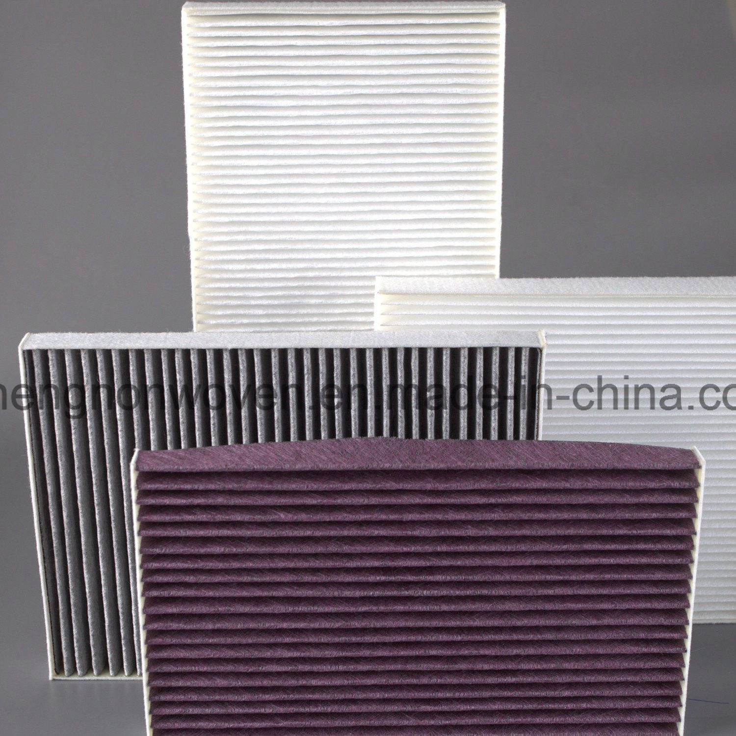 Auto Cabin Air Filter Absorbant Material