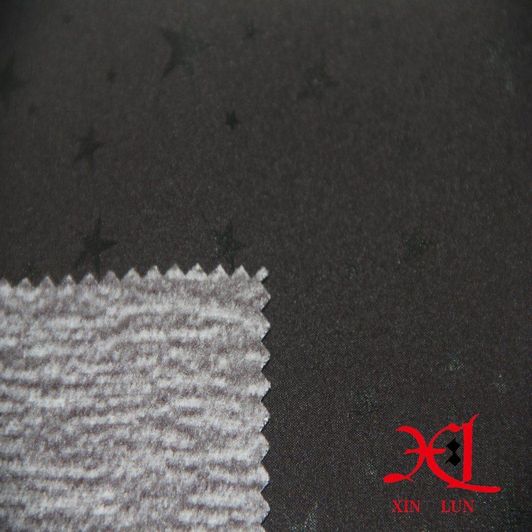 Waterproof Star Print TPU Coated Composite Fabric for Windbreaker/Ski Suit