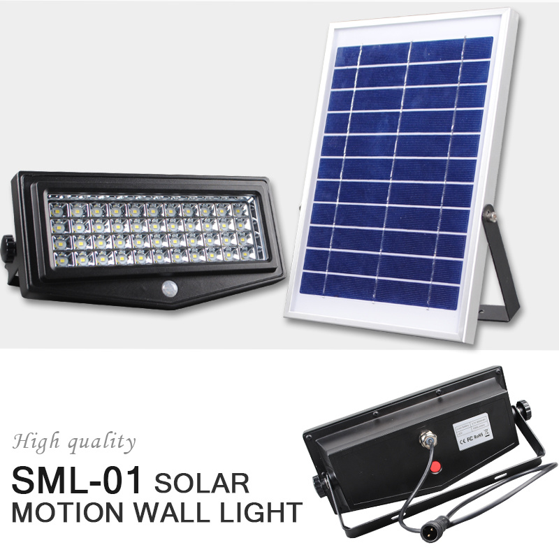 10W Solar Light PIR Security Wall Light Outdoor LED Light Energy Saving Solar Lamp