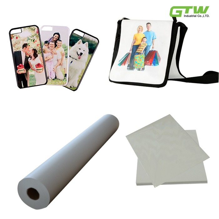 """Quick Dry 44"""" 66 GSM Heat Transfer Paper with High Transfer Rate for Inkjet Printer"""