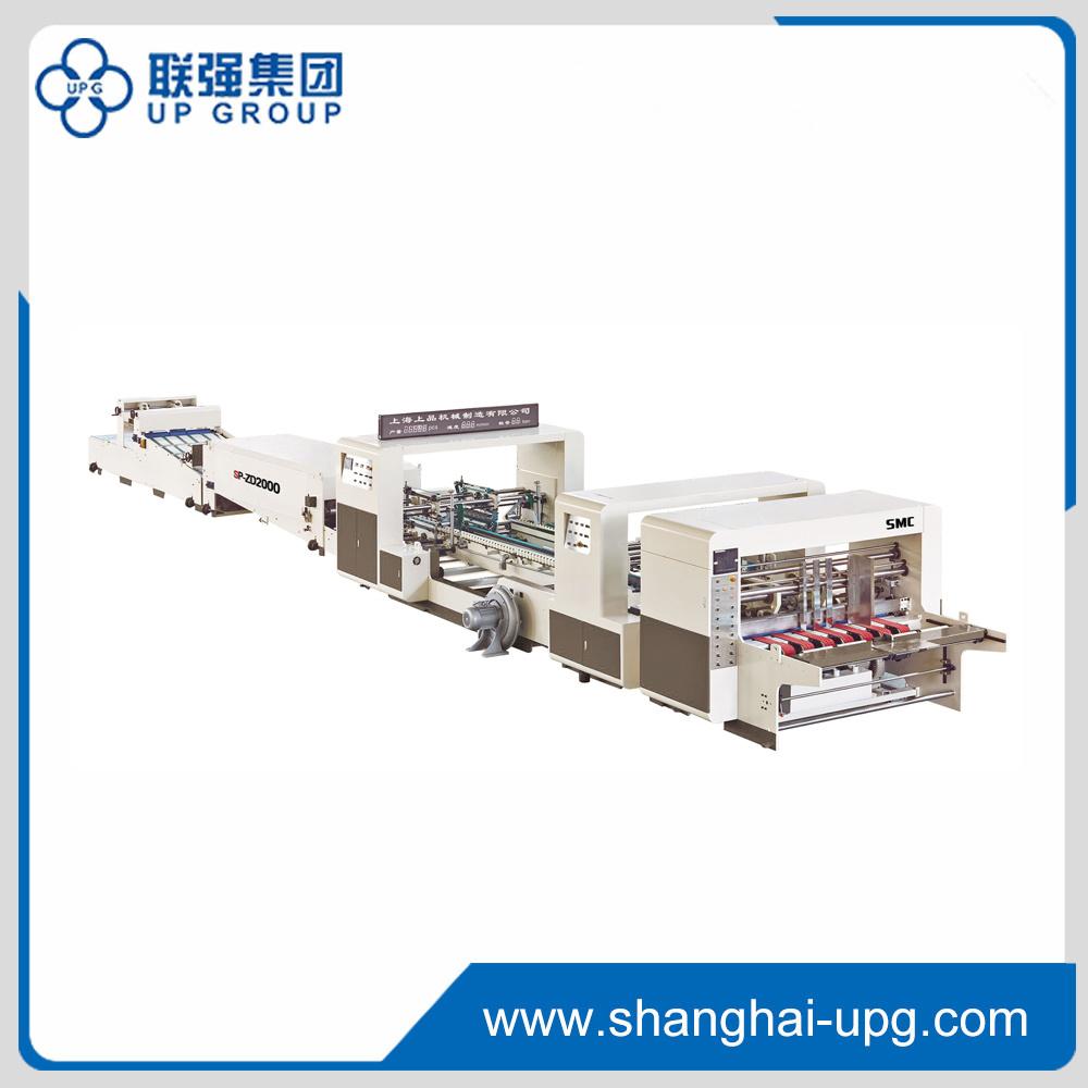 Zd2000/2400 Auto Folder Gluer Machine