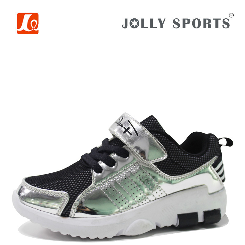 New Born Little Kid Infant Children Baby Shiny PU Shoes