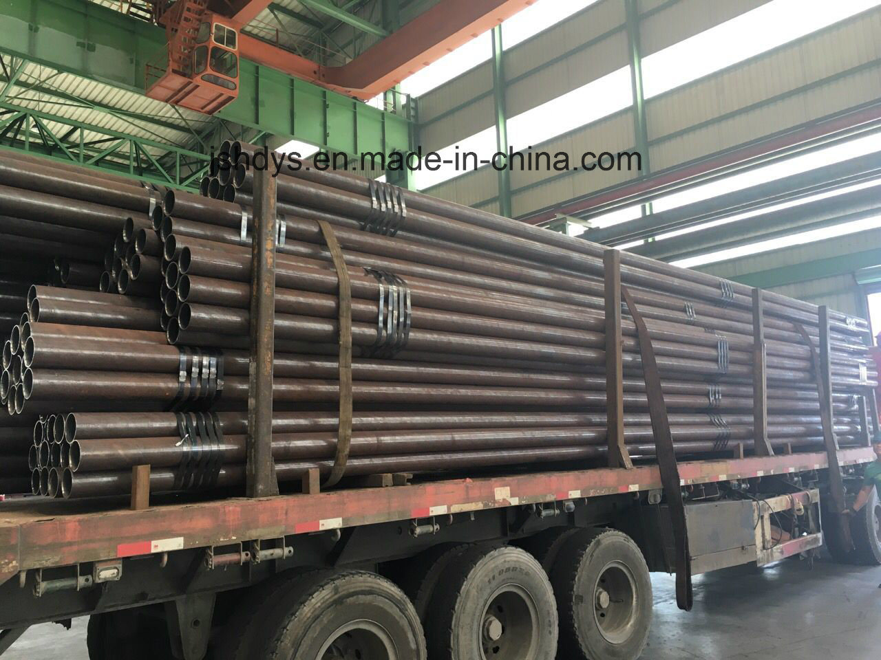 34CrMo4 Round Steel Pipe Tube High Pressure Vessel