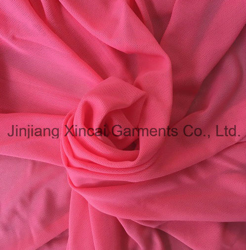 93%Nylon 7%Spandex 160 GSM Mesh Fabric for Lingerie or Swimwear