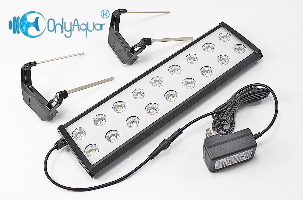 14W Full Spectrum LED Aquarium Lights with Remote