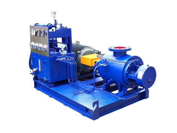 Twin Double Screw Pump