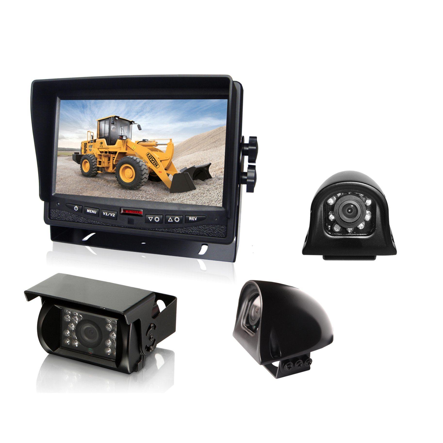 7inch Heavy Duty 24V CCD Bus/Truck Rear View Camera System