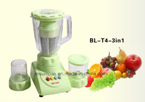 Electric Blender with Grinder and Chopper Bl-T4
