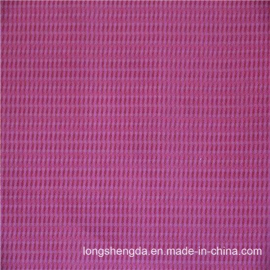 75D Woven Twill Plaid Plain Check Oxford Outdoor Jacquard 100% Polyester Fabric (X044)
