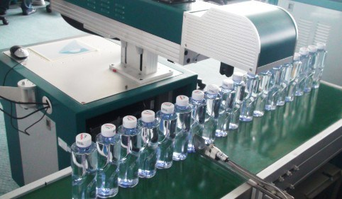Automatic on The Fly CO2 60watta Laser Marking Machine