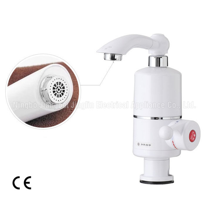 White Electric Instant Heating Faucet Kbl-3D Kitchen Faucet Water Tap