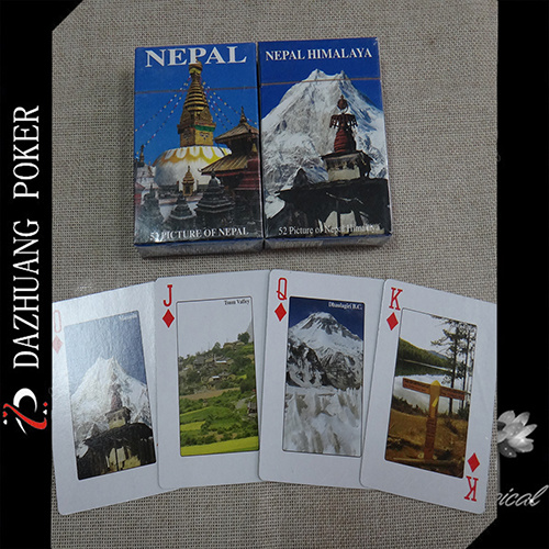 Souvenir Playing Cards with 52 Picture of Nepal