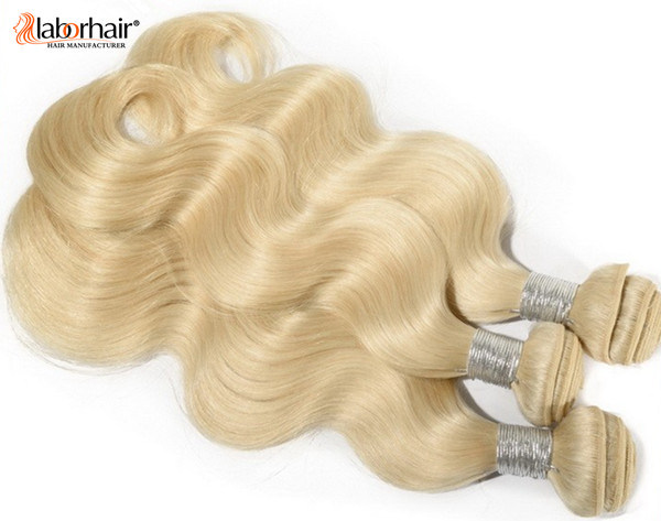Blonde Brazilian Remy Human Hair Extension, Natural Virgin Hair Braid Lbh 119