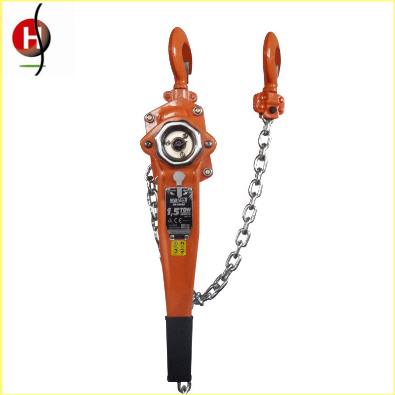 Best Selling 1.5t 1.5m Hsh-Va Manual Lever Hoist with CE Certificate