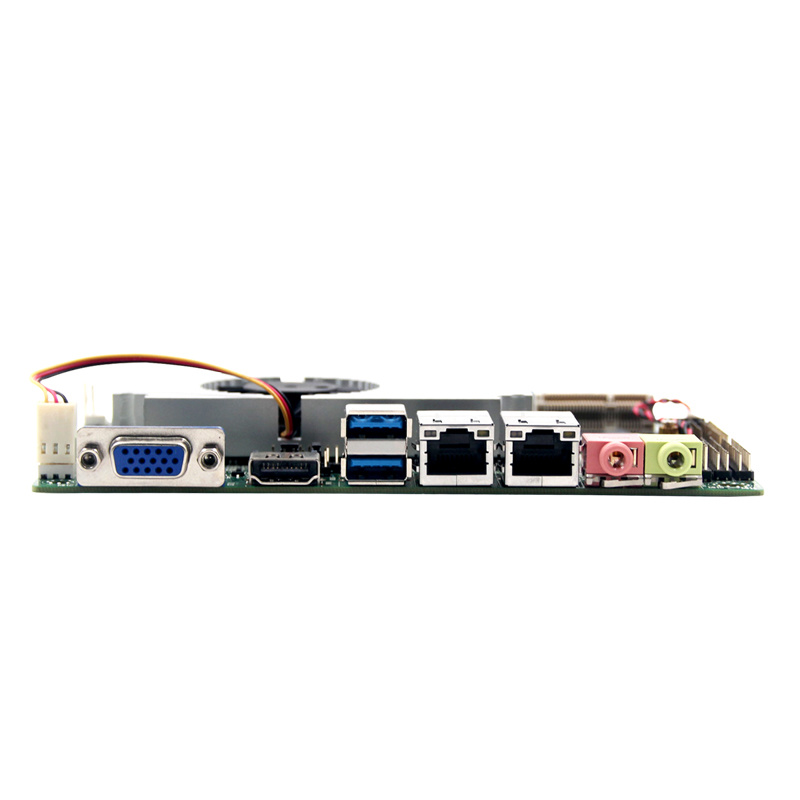 Thin Client 12V Dual LAN 3.5inch J1900 Industrial Mainboard for Industrial Computer