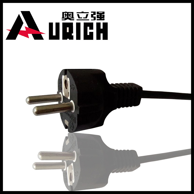 European 2pins OEM Germany Style Schuko Extension Power Cord