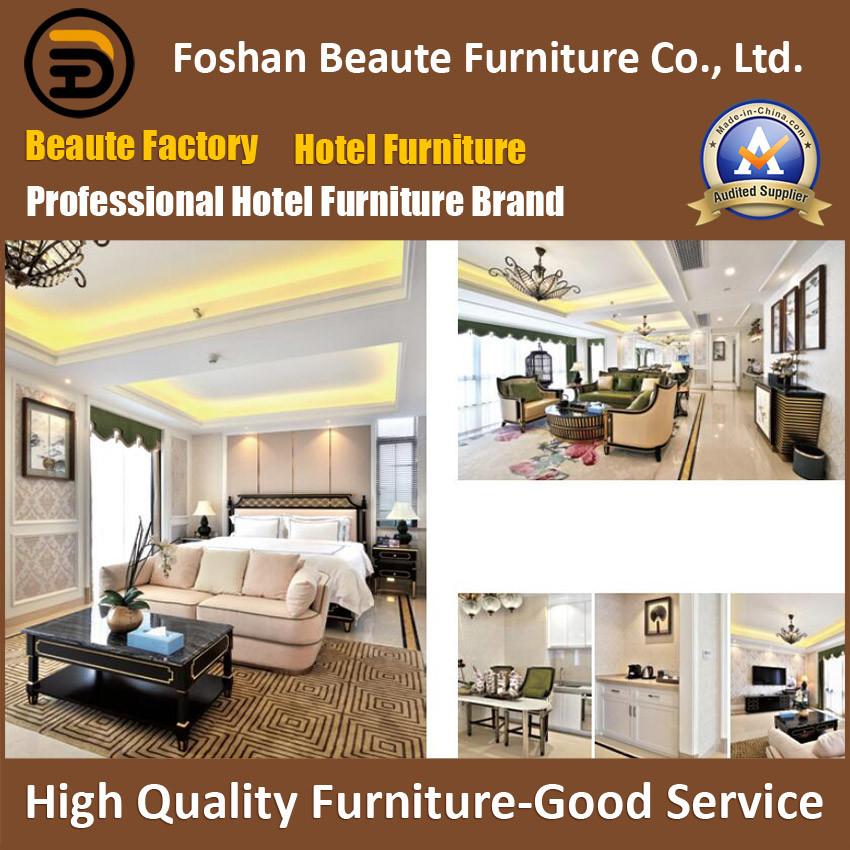 Hotel Furniture/Luxury King Size Hotel Bedroom Furniture/Restaurant Furniture/King Size Hospitality Guest Room Furniture (GLB-0109809)