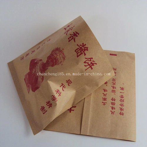 Customized Colorful PE Coated Paper Food Packaging Bag Fk-184