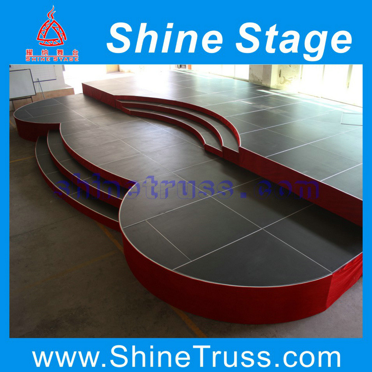 Sell Aluminum Stage, Modular Stage, Aluminum Stage Platform for Sale