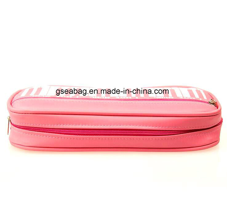 2016 New Design Fashion School Stationery Case Double Zipper Pencil Bag for Children (GB#30093)