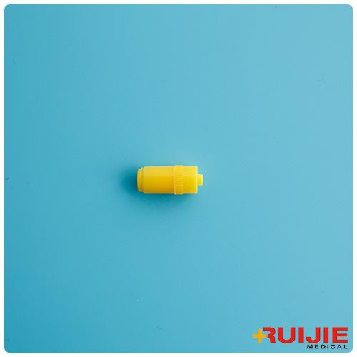 Yellow Heparin Cap