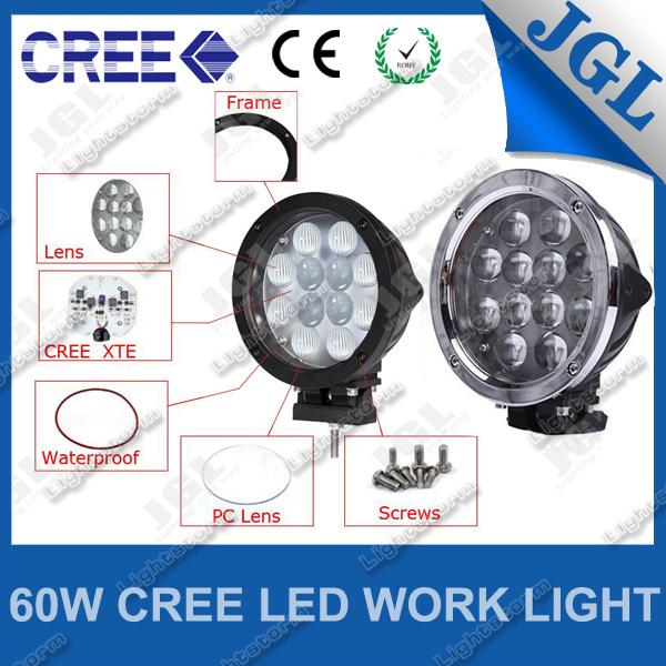 LED Auto Lamp CREE 60W Offroad Vehicle LED Work Lamp