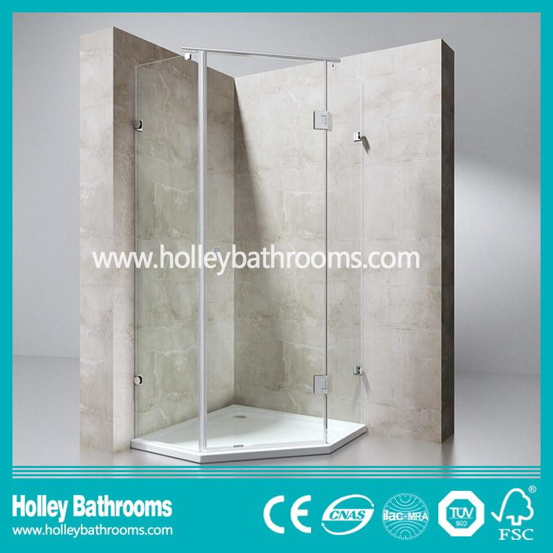European Style Hinger Door Selling Simple Shower Cabin (SE611C)