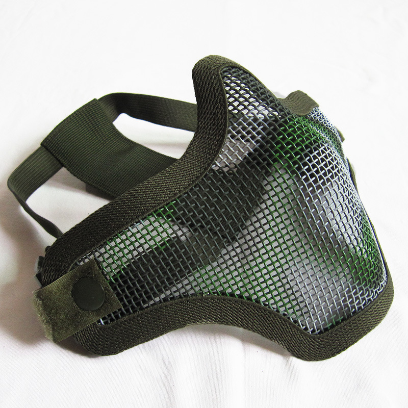 Hot Sale Strike Wire Mesh V1 Half Face Airsoft Mask