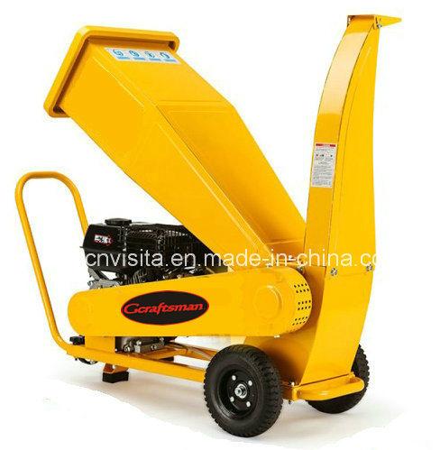 6.5HP 196cc Gasoline Power Wood Chipper Shredder
