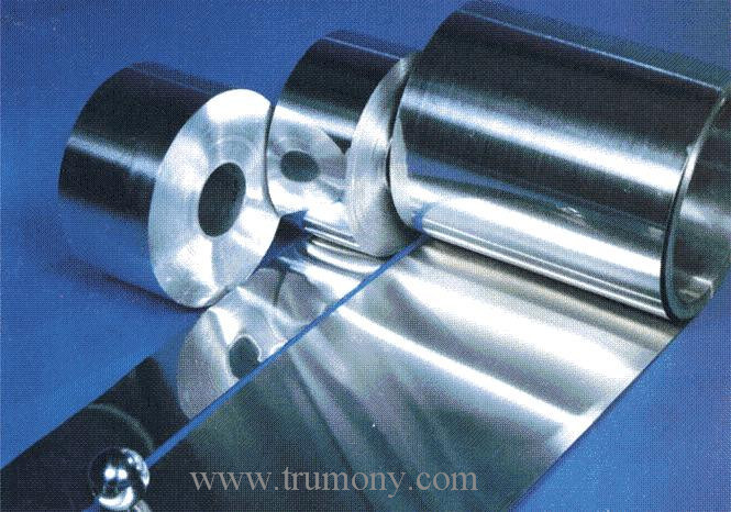 Blue Colour 8011 H22 0.14mm*270mm Hydrophilic Finstock Coated Aluminum / Aluminium Foil