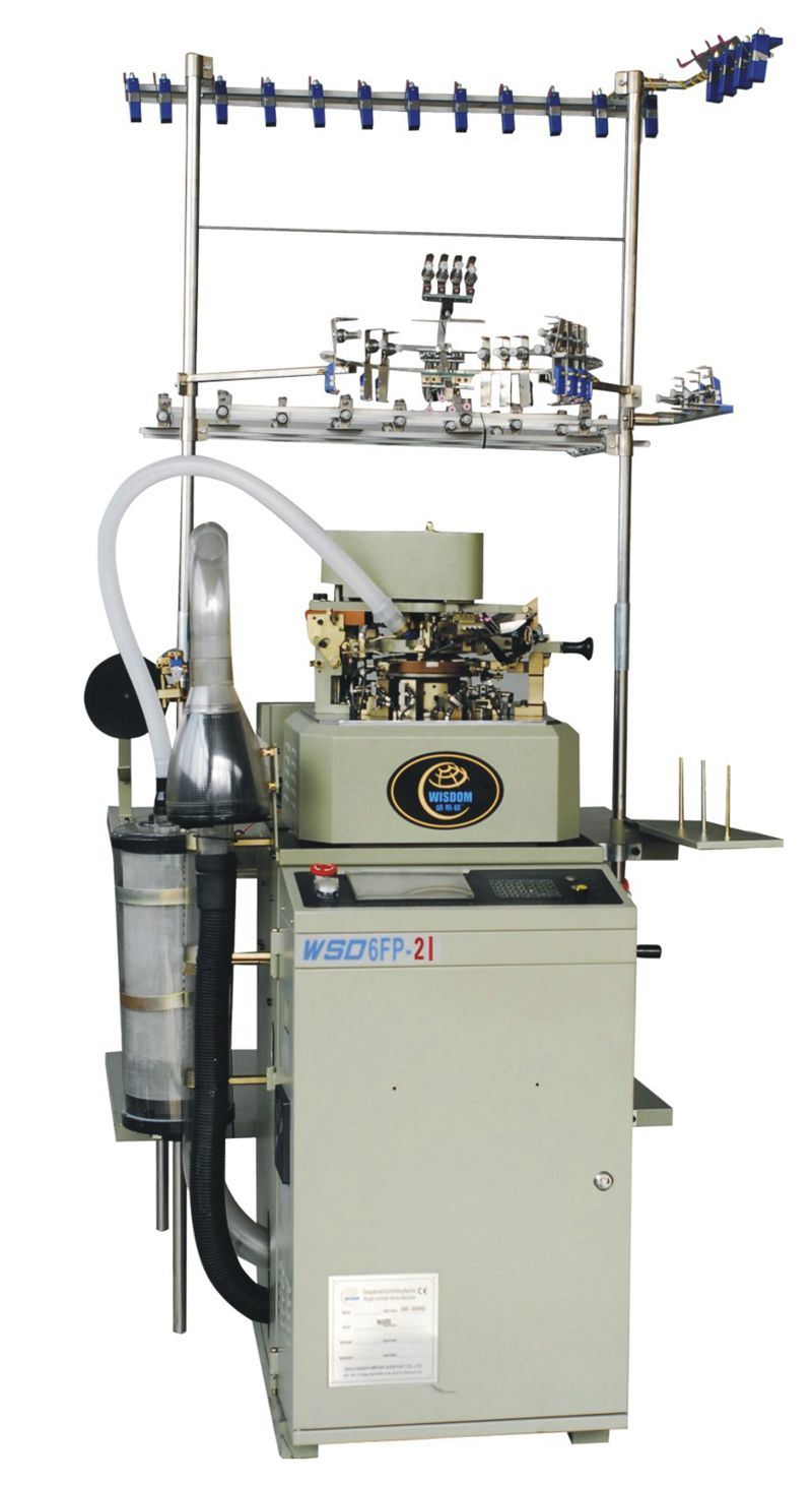 Wsd- 6fp-2 Single Cylinder Plain Invisible Socks Machine