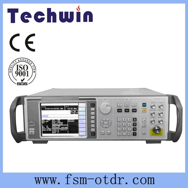 Techwin Synthesized Digital Signal Generator Machine