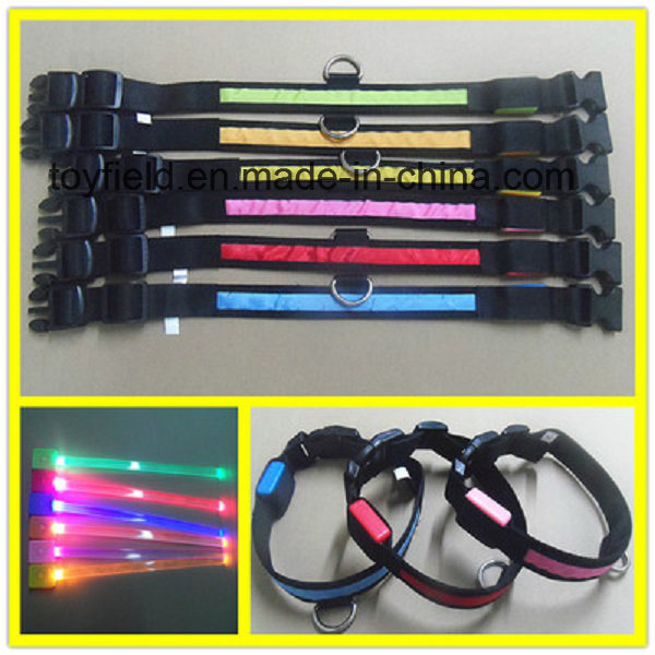 Pet LED Collar Night Safety Flashing Dog Collar